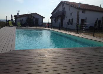 piscine gite pays basque